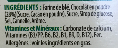 Coco Pops - Chocos - Ingredients - fr