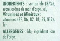 All-Bran Fibre Plus - Ingredients