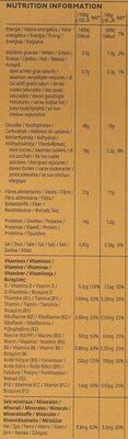 kelloggs All Bran - Nutrition facts - fr