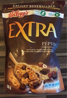 Extra ® Pépites (Morceaux de Chocolat Noir & Noisettes Grillées) - Product