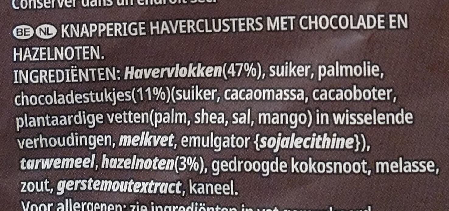 Kellog's Extra Pépites - Ingrediënten - nl