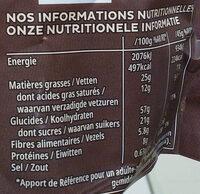 Kellog's Extra Pépites - Voedingswaarden - fr