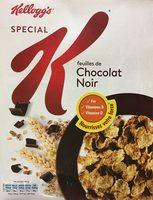 Spécial K feuilles de chocolat noir - Product - fr