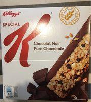 Barres Special K chocolat noir - Product