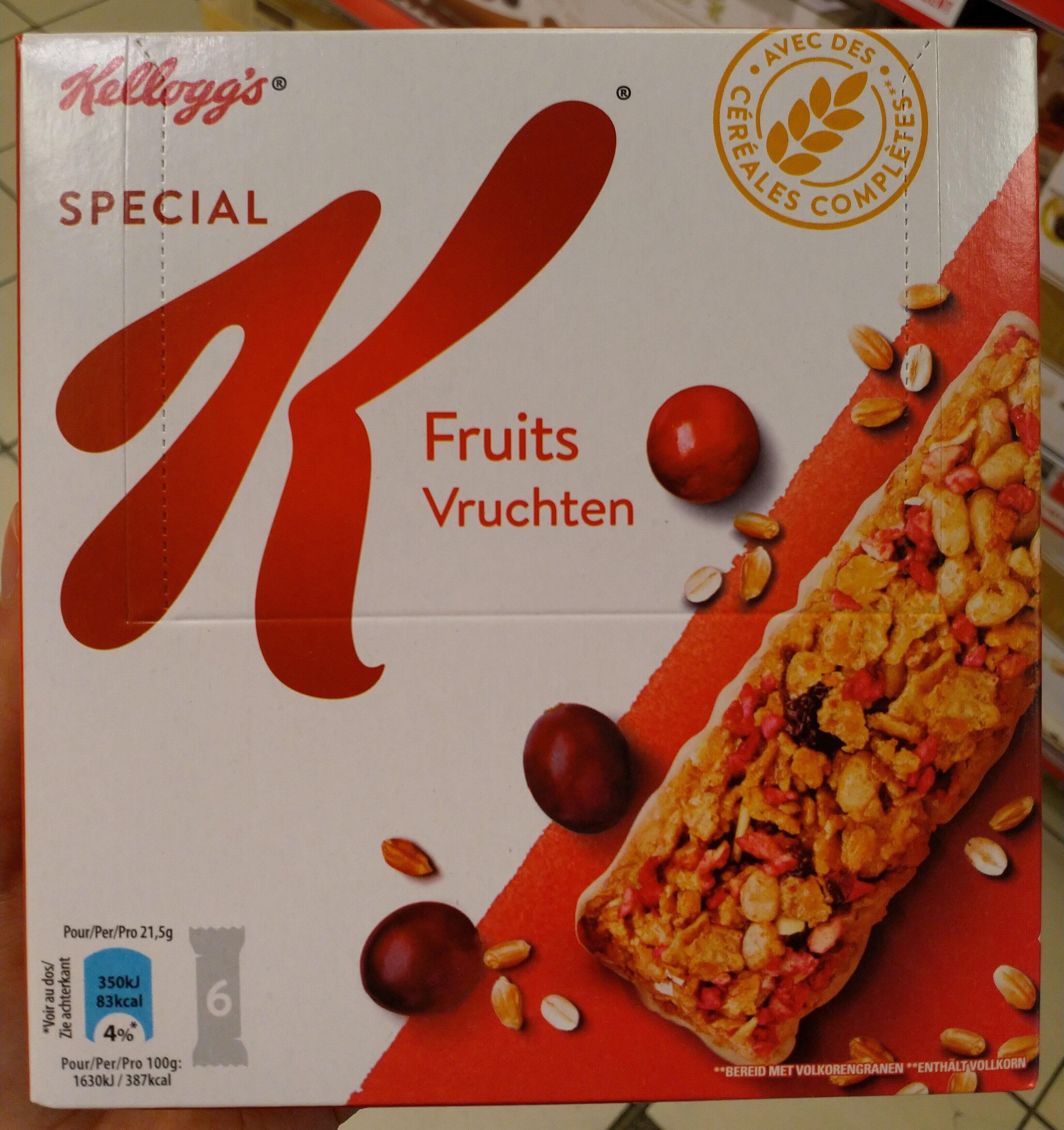 Spécial K Barres Croustillantes fruits rouges - Product