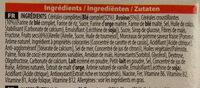 Spécial K Barres Croustillantes fruits rouges - Ingrediënten