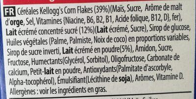 Frosties - Ingrédients - fr