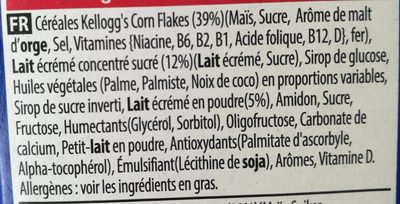 Frosties - Ingredients