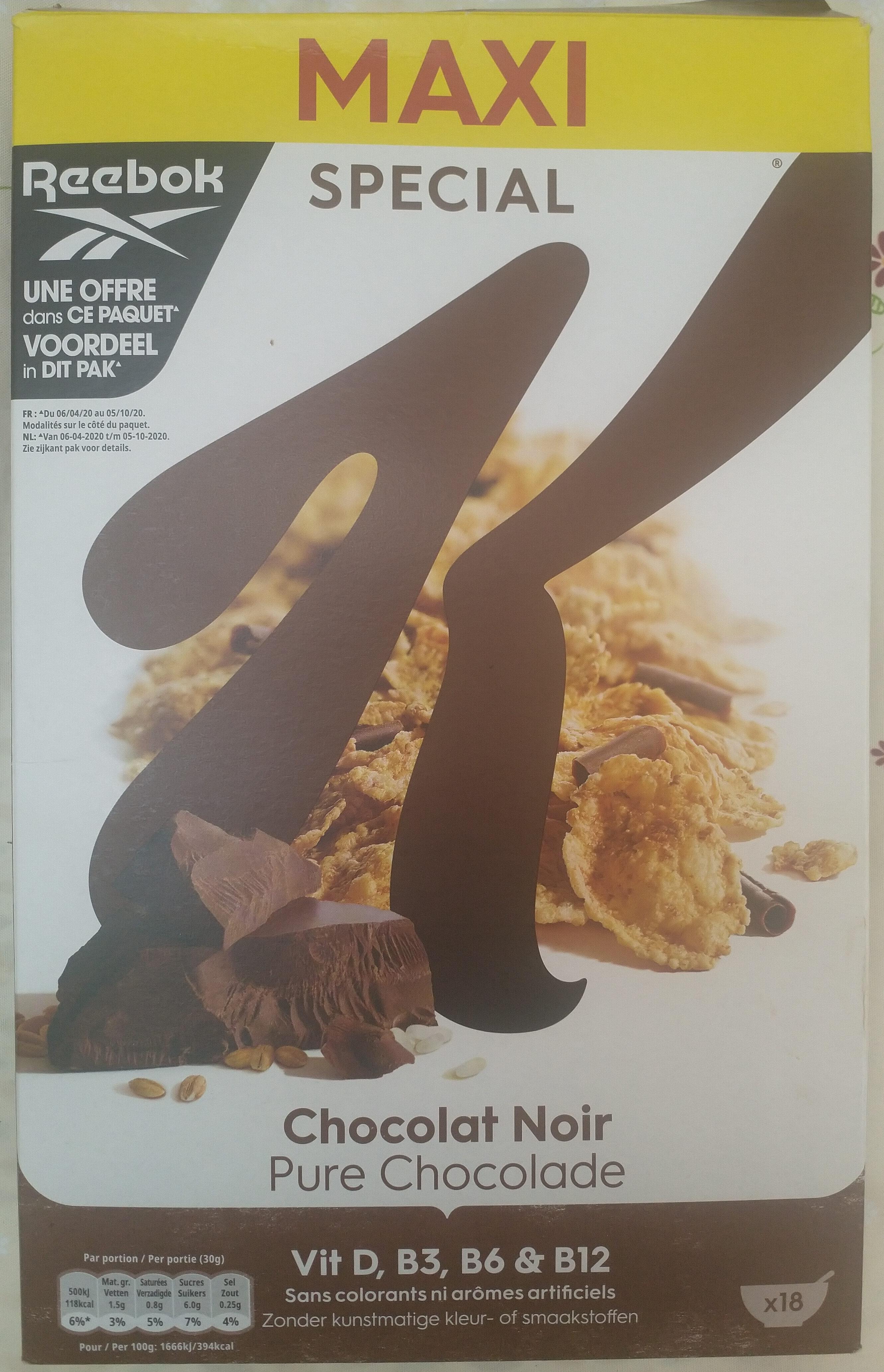 Special K feuilles de Chocolat Noir (Format Maxi) - Produit - fr
