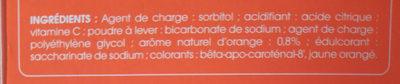 Juvamine Vitamine C 500 comprimés effervescents - Ingrédients - fr