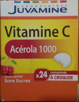 Vitamine C Acérola 1000 - Produit