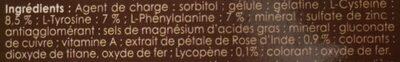 Auto bronzant - Inhaltsstoffe