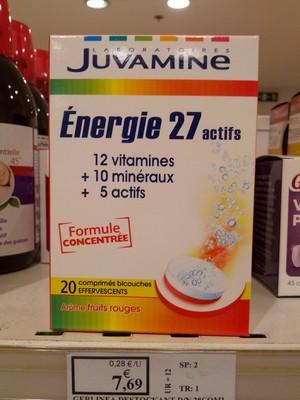 Juvamine Energie 27 actifs Arôme fruits rouges - 3