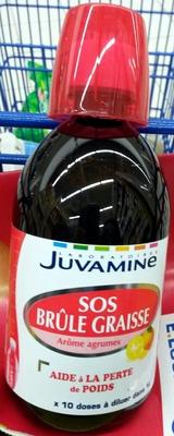 SOS Brûle Graisse Arôme agrumes - juvamine - 500 ml