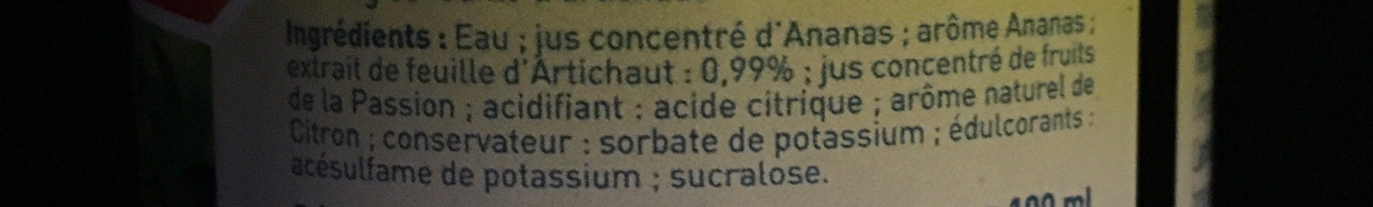 Artichaut détox - Ingrédients - fr