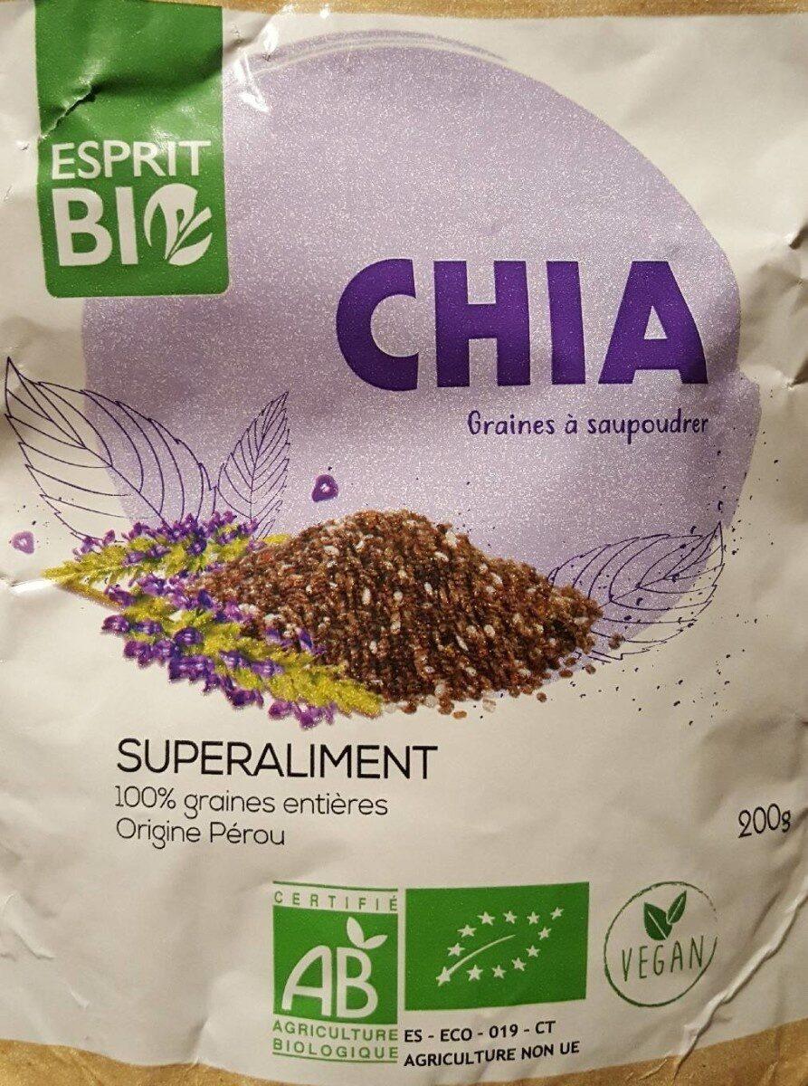 Graine de CHIA - Prodotto - fr