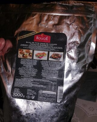 Bloc de foie gras de canard tranche surgelé I. Q. F - Product