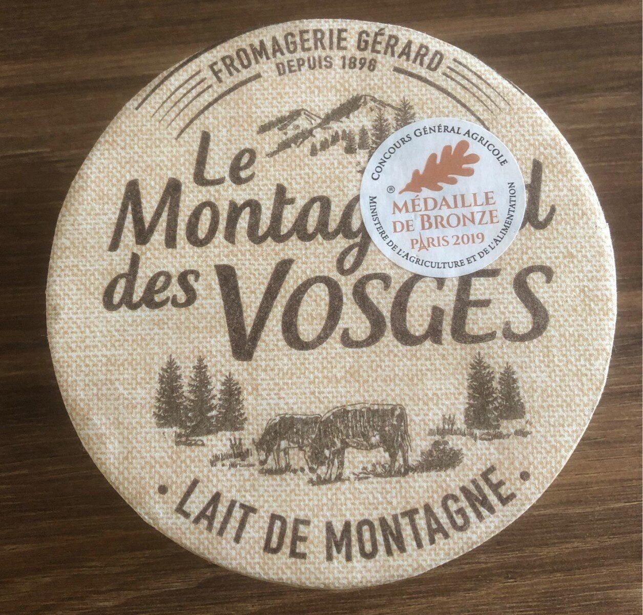 Le Montagnard des Vosges - Informations nutritionnelles - fr