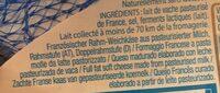 Mini caprice pocket - Ingredients - fr