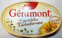 Géramont mit gerösteten Kürbiskernen - Produkt