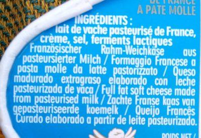 Caprice Des Dieux - Ingredienti - fr