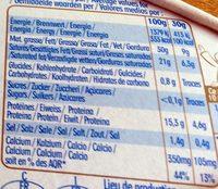 Caprice Des Dieux - Informazioni nutrizionali - fr