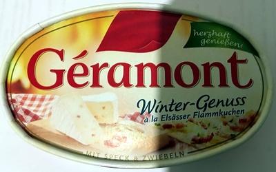 Géramont Winter-Genuss ala Elsässer Flammkuchen - Produkt