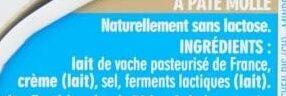 Caprice des Dieux - Ingredients - fr