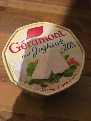 Geramont mit Joghurt - Product