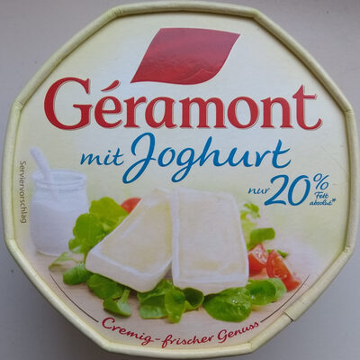 Geramont mit Joghurt - Product - de