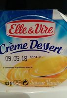 Crème Dessert Saveur Vanille - نتاج - fr