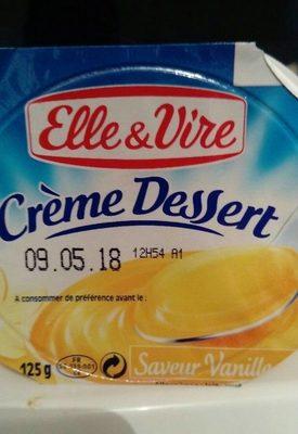 Crème Dessert Saveur Vanille - نتاج