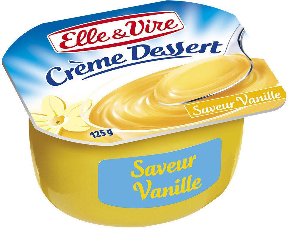 Crème dessert aromatisée saveur vanille stérilisée UHT - نتاج - fr