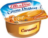 Crème dessert caramel aromatisée stérilisée UHT - Produit - fr