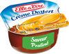 Crème dessert aromatisée saveur praliné stérilisée UHT - Product