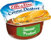 Crème dessert aromatisée saveur praliné stérilisée UHT - Prodotto - fr