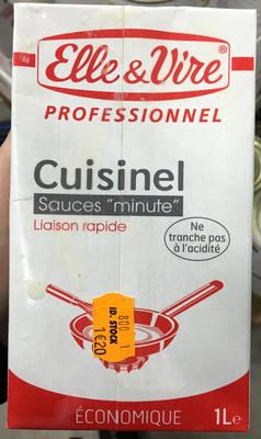 """Cuisinel sauces """"minute"""" liaison rapide économique - Produit"""
