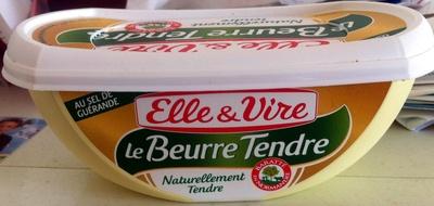 Le beurre tendre Elle & Vire - Product - fr