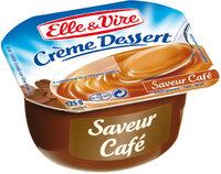 Crème dessert aromatisée saveur café stérilisée UHT - Prodotto - fr