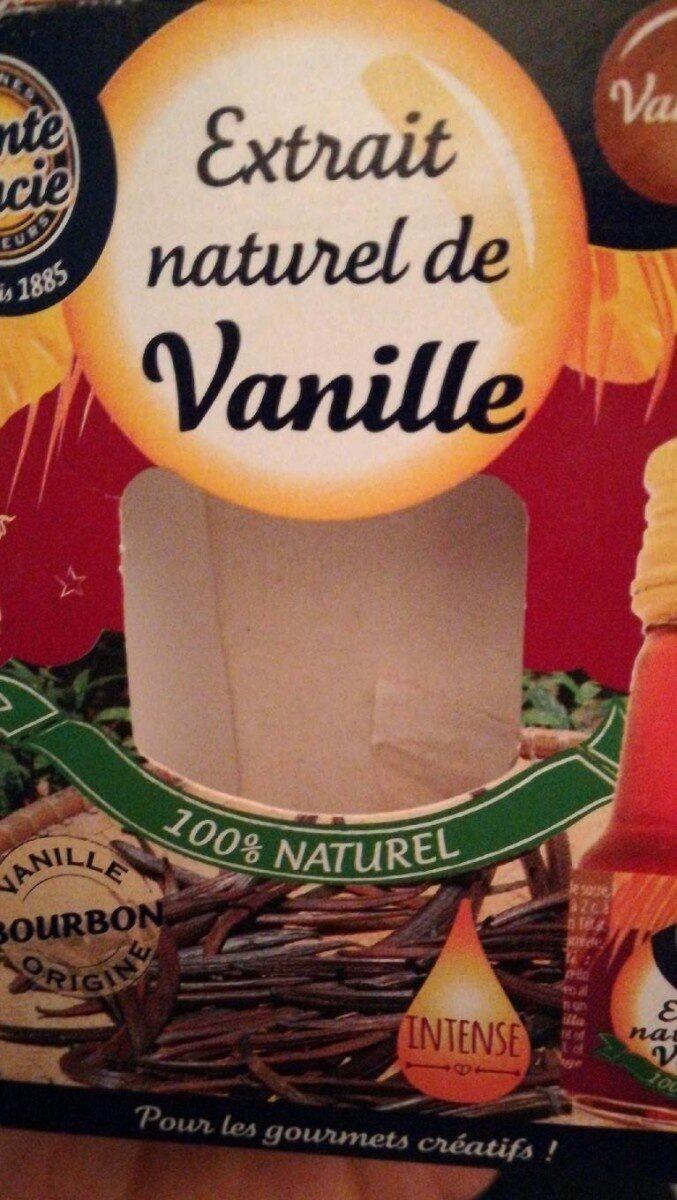 Extrait naturel de Vanille - Product - fr