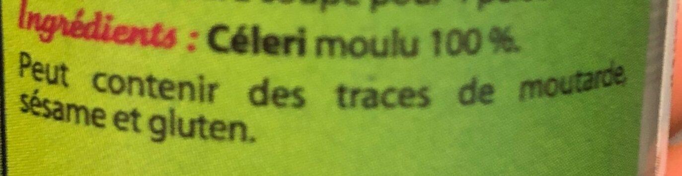 Céleri moulu - Ingrédients - fr