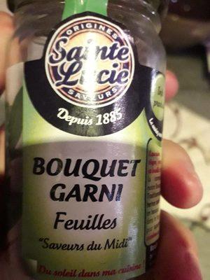 Bouquet garni feuilles - Ingrediënten - fr