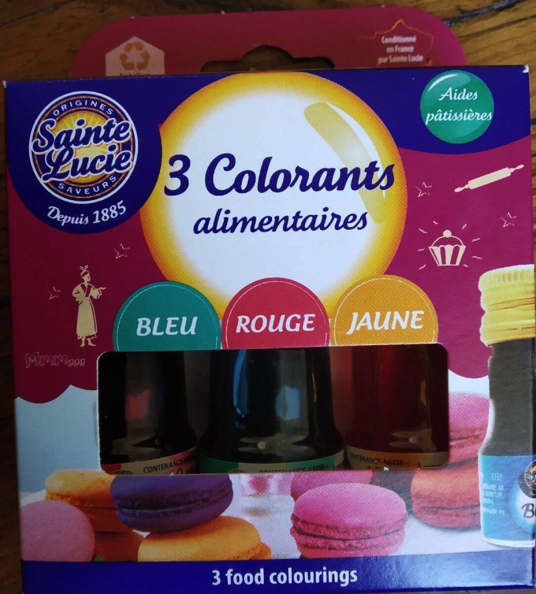 3 colorants alimentaires - Produit