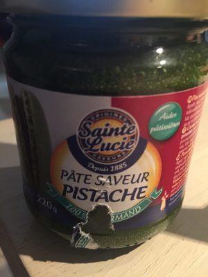 Pâte Saveur Pistache - Produit