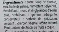 Pâte à Sucre - Ingrédients