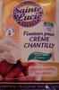 Fixateur pour Crème Chantilly - Produit