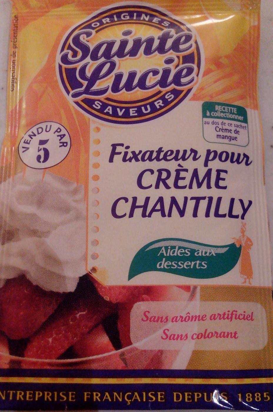 Fixateur pour Crème Chantilly - Produit - fr