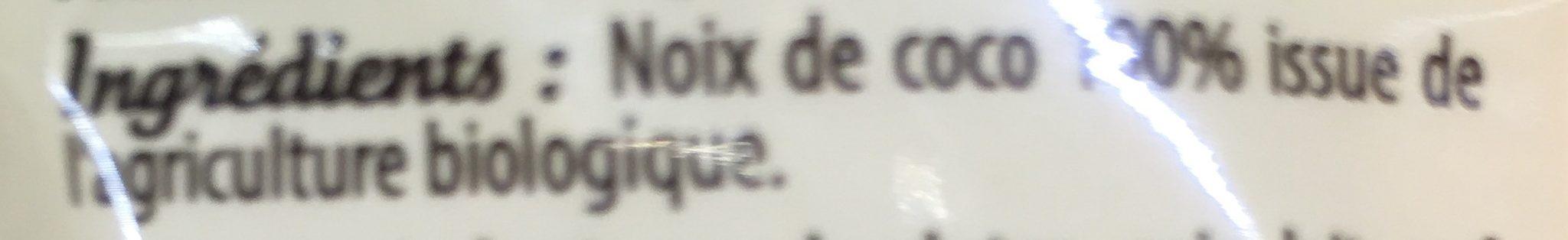 Noix de coco - Ingredients - fr