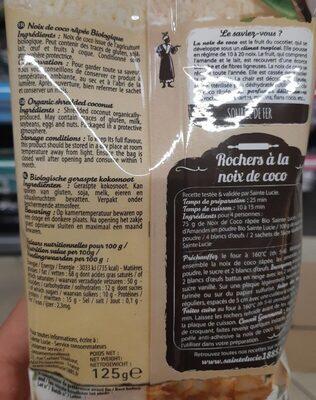 Noix de coco - Nutrition facts - fr