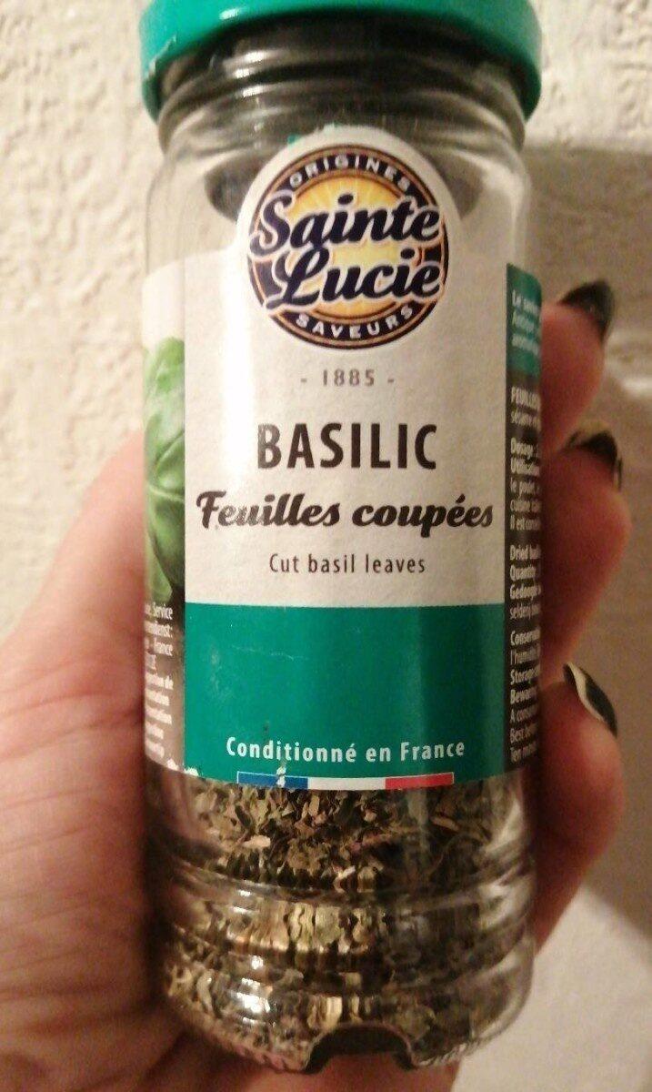 Basilic feuilles coupées - Product - fr